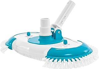 EE.UU. Pool Supply Cabeza de aspiradora de piscina con cerdas laterales de nailon, conexión de manguera giratoria, mango d...