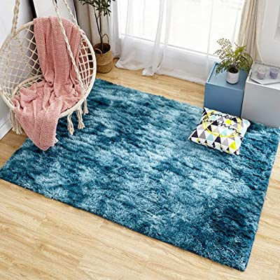 Bedroom Rugs Ultra Soft Modern Area Rugs Shaggy...