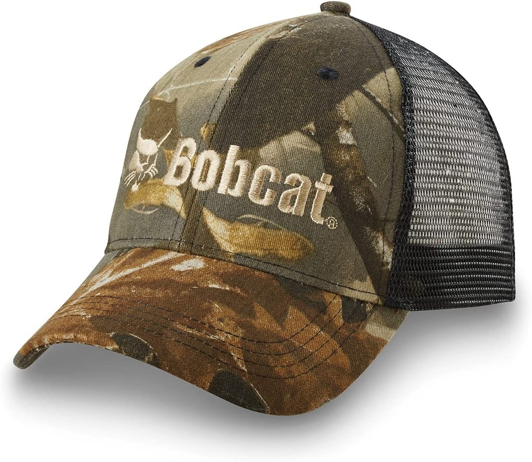 Bobcat 250003 Cap (Realtree with Mesh Back)