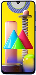 Samsung Galaxy M31 (Ocean Blue, 8GB RAM, 128GB Storage) 6 Months Free Screen Replacement for Prime