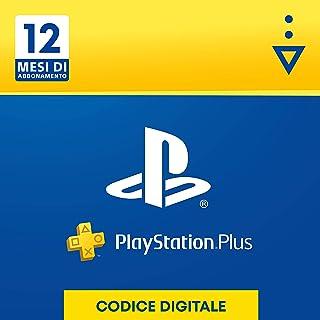 PlayStation Plus Abbonamento 12 Mesi   Codice download per PSN - Account italiano