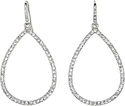Large Pave Teardrop Gypsy