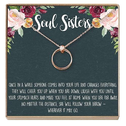 8941ba1d9586 Friend Gifts Necklaces  Amazon.com