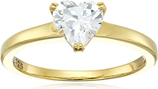 goldheart solitaire ring