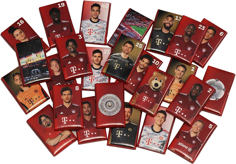FC Bayern München Schokoladen Adventskalender  - Bild 1