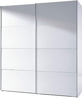Habitdesign ARC180BO - Armario Dos Puertas correderas Armario Dormitorio Acabado en Color Blanco Brillo Medidas: 180 (La...