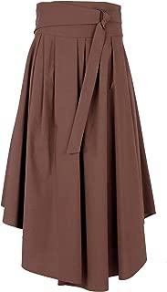 Brunello Cucinelli Luxury Fashion Womens MH127G2906C7551 Brown Skirt |