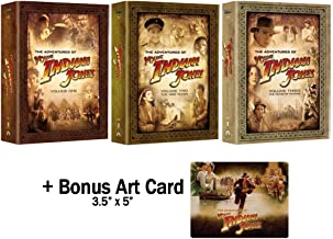 The Adventures of Young Indiana Jones: Complete TV Series Ultimate DVD Box Set Collection - Loaded With Special Features, Interactive Content, & Documentaries on 31 Discs! + Bonus Art Card