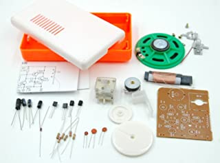 TEKNON 自作 4石 高感度 中波 トランジスタ ラジオ 製作 キット D08