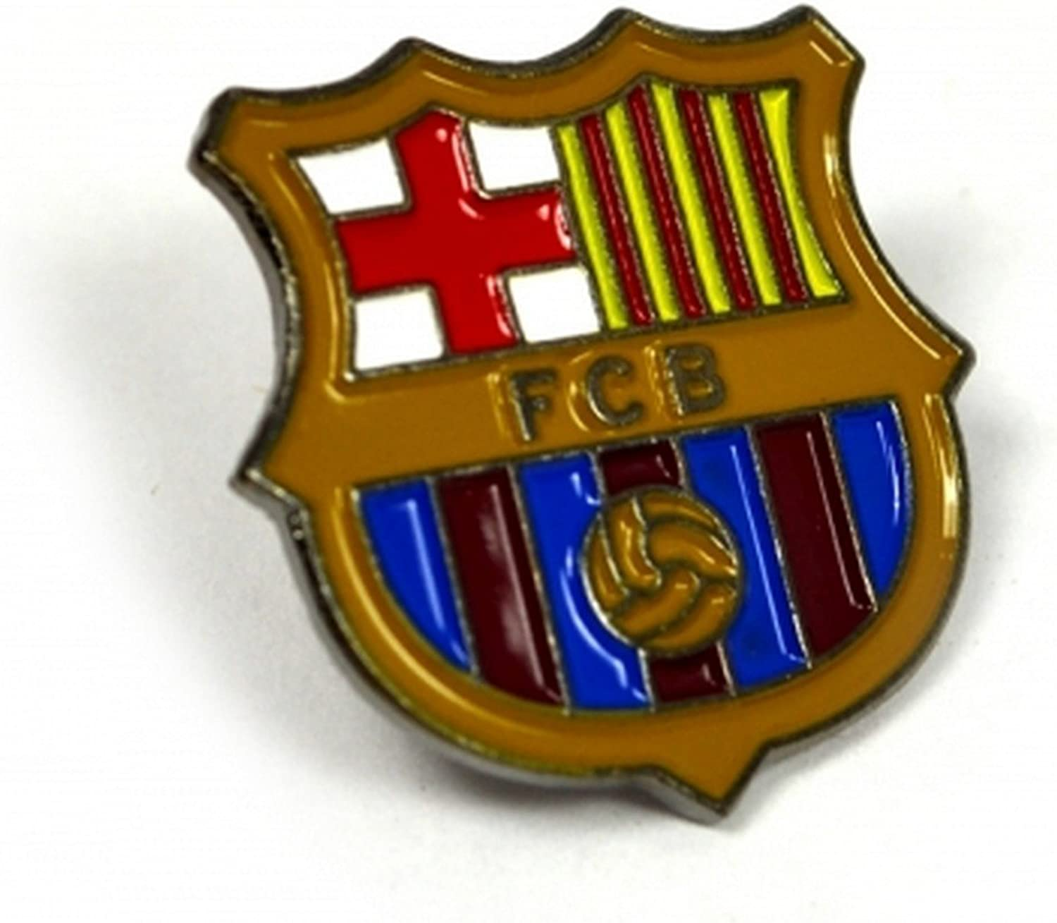 FC Courier shipping free Barcelona Official Soccer Fresno Mall Pin Badge