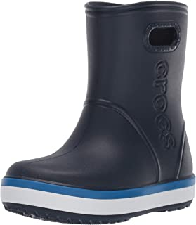 Crocs Crocband Rain Boot Kids, Bottes & Bottines de Pluie Mixte Enfant