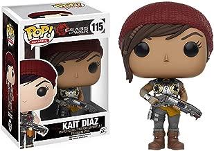 Funko Kait Diaz: Gears of War x POP! Games Vinyl Figure & 1 POP! Compatible PET Plastic Graphical Protector Bundle [#115 / 10635 - B]