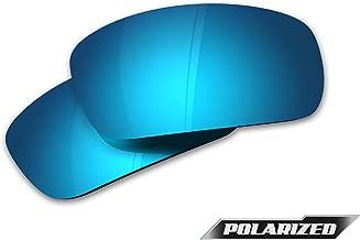 Edge Khor - Aqua Precision Polarized Replacement Lens - Blue Mirror