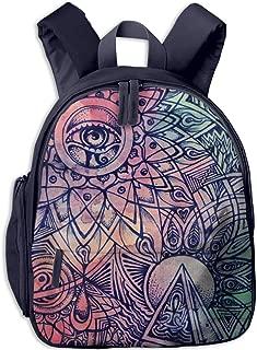 AHOMY Boho Sun Moon Stars Messenger Bag Small Travel School Sling Bag Crossbody Bag