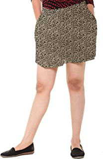 EASY 2 WEAR ® Womens Printed Rayon Shorts (Size XS to 4XL) Comfort FIT and Plus Sizes