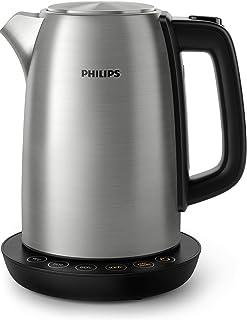 Philips Waterkoker Avance Collection - 1.7 Liter - 2200 Watt - 4 Verschillende temperatuurinstellingen - Warmhoudfunctie -...