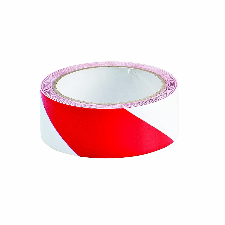 Brady 55295 Wrng Stripe Tape Vinyl Red