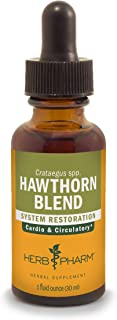 Herb Pharm Hawthorn Blend Liquid Extract for Cardiovascular and Circulatory Support, 1 Fl Oz