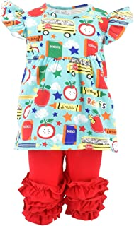 Girls Back to School Recess Tunic Boutique Outfit