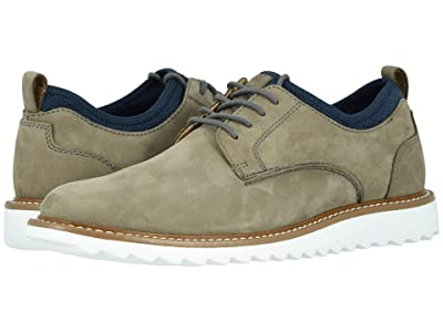 Dockers Fleming Leather Smart Series Dress Casual Oxford (Grey Nubuck) Men