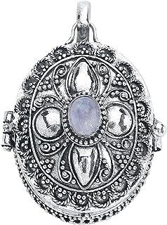 LuxXL by Vero – Medaglione da donna, in argento 925, 2,5 x 3 cm