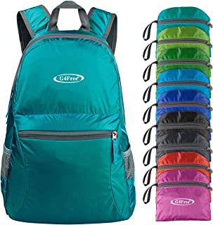 G4Free Ultra Lightweight Packable Backpack Foldable Travel Hiking Daypack Small Handy Outdoor Camping Backpack