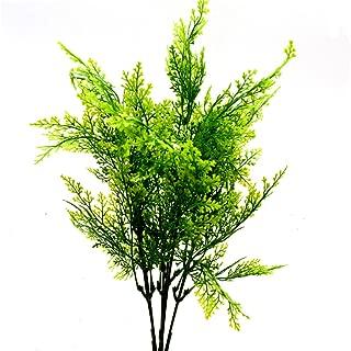 Cosanter 1pcs Plante Artificielle Fausses Plantes en Pot Faux Feuilles d/écoration pour Maison Cuisine Salon 006 43cm