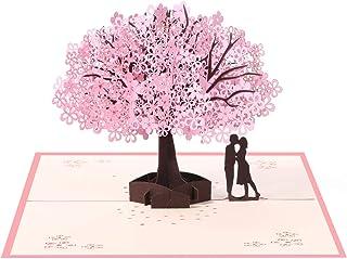 Vicloon Tarjetas de Felicitación, Tarjeta de San Valentín con Sobre, Tarjeta de Felicitación Pop Up 3D, Tarjeta de Felicit...