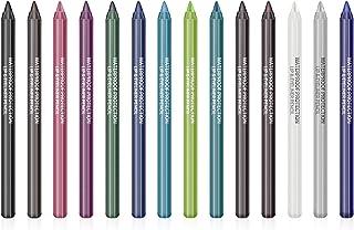 Ownest 14 Colors Eyeliner Pen Set,Pearl Eyeliner Kit Metallic Eyeliner Pencil Glitter Eyeliner for Women Eye Liner Profess...