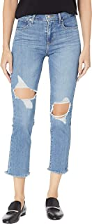 724 High Rise Straight Jeans Black Sheep
