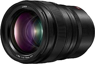 Panasonic LUMIX S PRO 50mm F1.4 Lens, Full-Frame L Mount, LEICA Certified, Dust/Splash/Freeze-Resistant for Panasonic LUMIX S Series Mirrorless Cameras - S-X50 (USA),Black