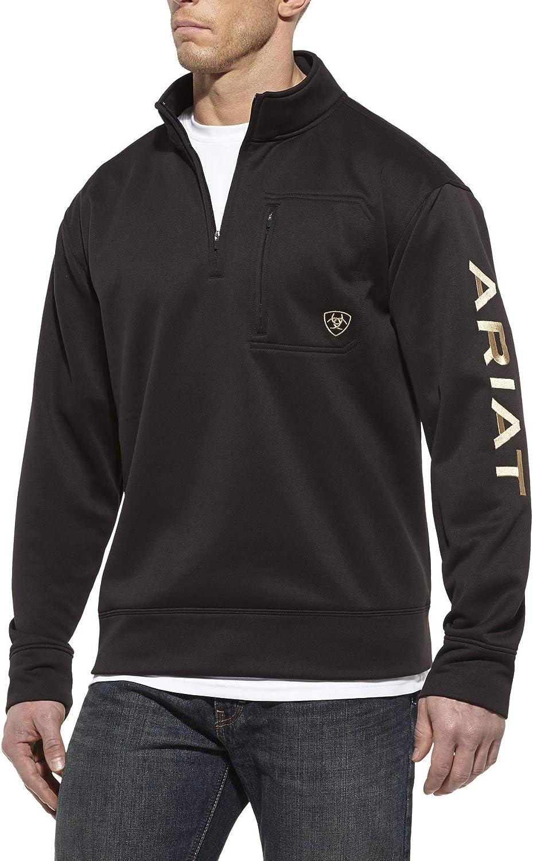 Ariat Mens Tek Team 1//2 Zip Sweatshirt