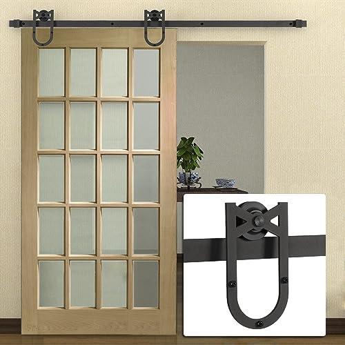 Barn Doors With Glass Amazon