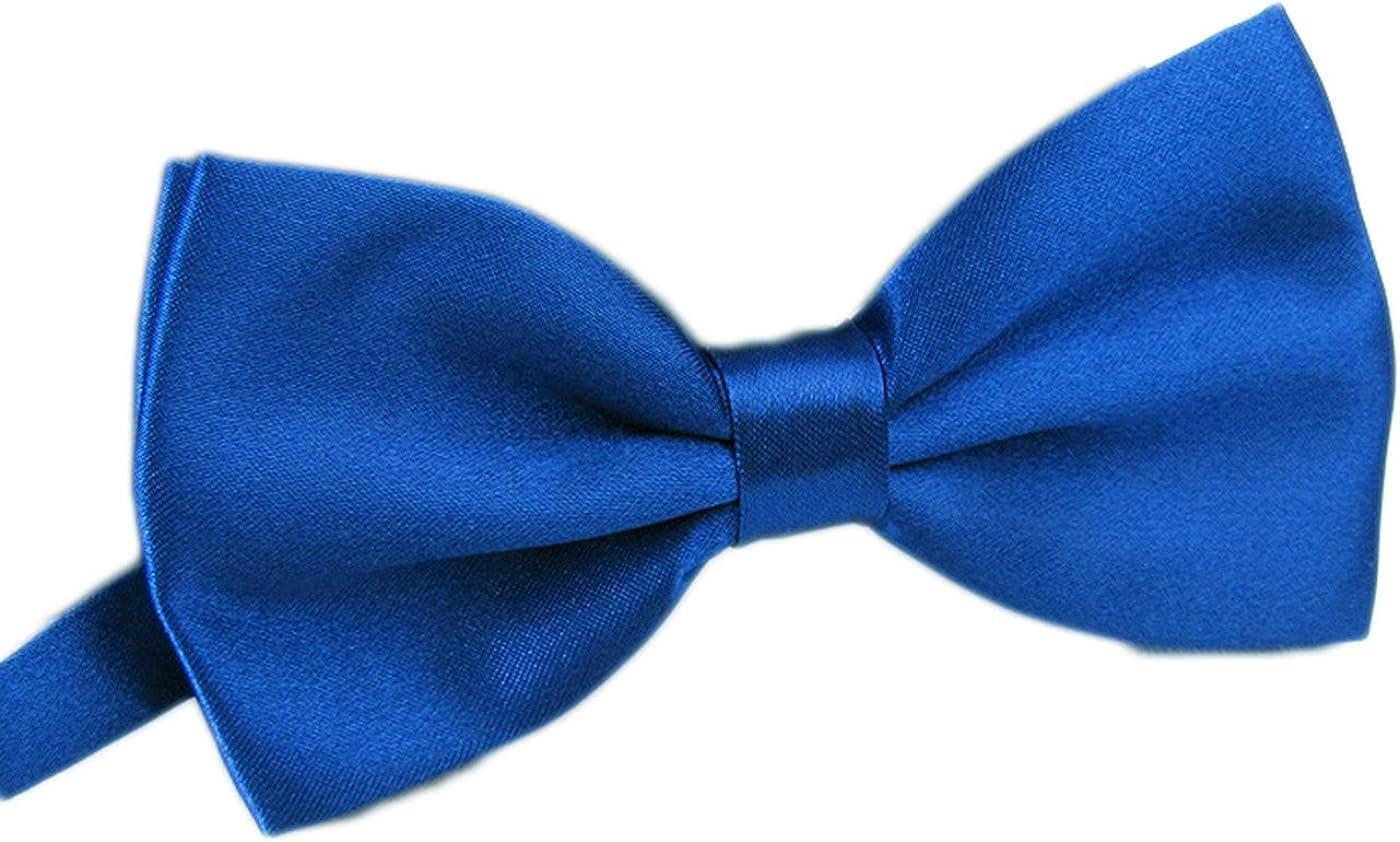 AWAYTR Men's Pre Tied Bow Ties Fancy Plain Adj Party Max 59% OFF for Memphis Mall Wedding