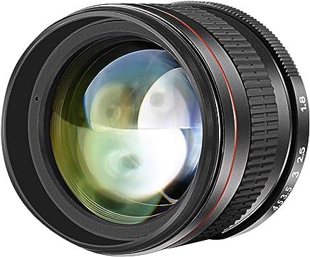 Neewer 10089444 Lente Retrato Telefoto Asférica Multicapa para Cámaras DSLR, 85mm F/1.8, negro