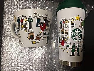スターバックス福袋2021 スターバックスリザーブロースタリー中目黒 TOKYO ステンレスタンブラー マグカップ マグ コーヒージャーニー