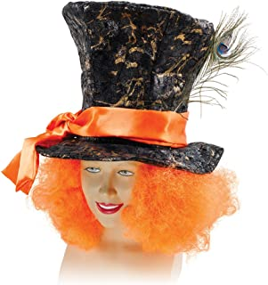 Bristol Novelty BH520 Mad Hatter Hat and Hair, Multi-Colour, One Size