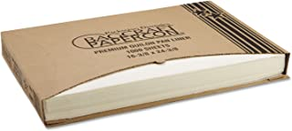 Bagcraft Papercon 030001 Premium Grease-Proof Quilon Pan Liner 25Q1 with Standard Release, 24-3/8