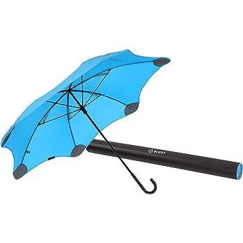 【正規輸入品】 ブラント ライト (サード ジェネレーション) カーブハンドル 全6色 長傘 手開き ブルー 6本骨 58cm 耐風傘 A1445-74
