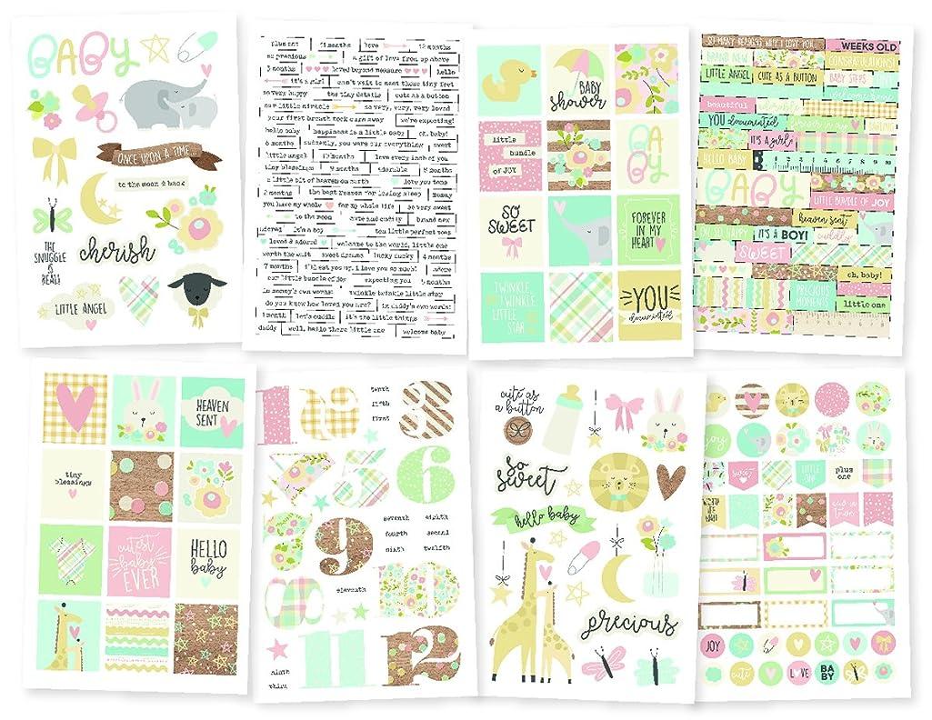 Simple Stories Stickers, Multi-Coloured, Medium
