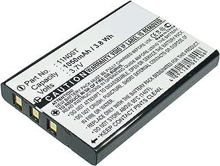 Exell Remote Control Battery 3.7V 1050mAh Li-Ion Fits Universal MX-810, MX-810i, MX-880, MX-950, MX-980 Replaces Universal BATTMX880, NC0910, UT-BATTMX880