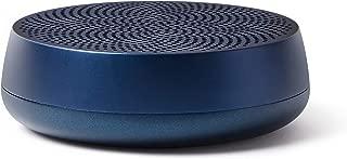 Lexon Mino L - 5W Pairable Bluetooth Speaker, Rechargeable, Hands-Free, USB-C - Aluminium/Dark Blue