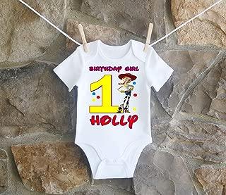 Toy Story Jesse Birthday Shirt Girls
