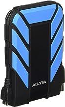 ADATA Disco Duro Externo HDD HD710P, 2 TB, Resistente a golpes,agua y polvo, certificación grado militar, Color Rojo
