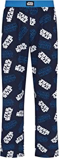 Star Wars Classic Logos Navy Lounge Pant Pyjama Bottoms by Re:Covered