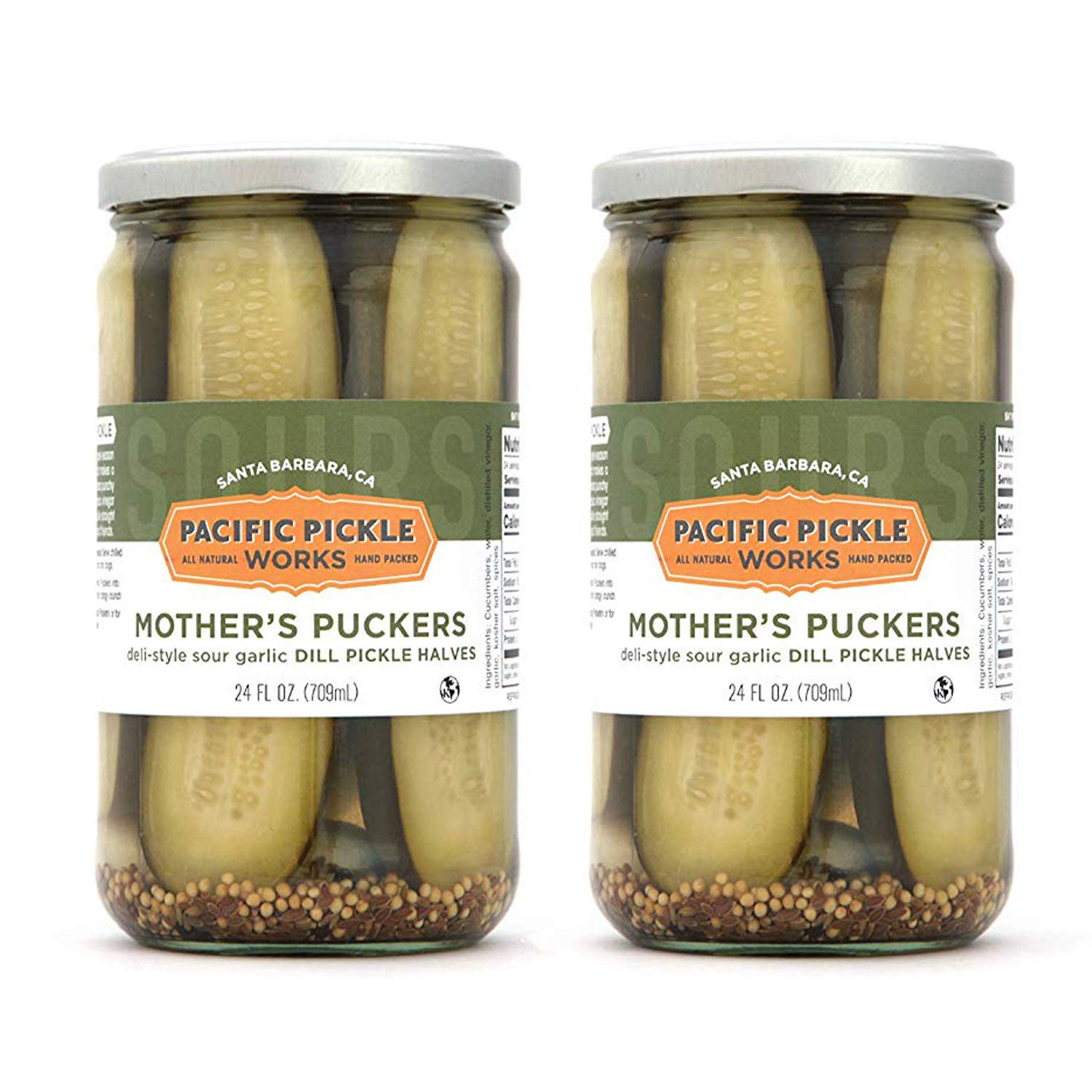 Mother's Puckers 2-pack - Mesa Mall Home-style New Free Shipping 24oz pickles dill garlic