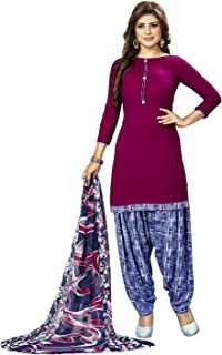 e41c3f3090 Amazon.in: Purples - Dress Material / Ethnic Wear: Clothing ...