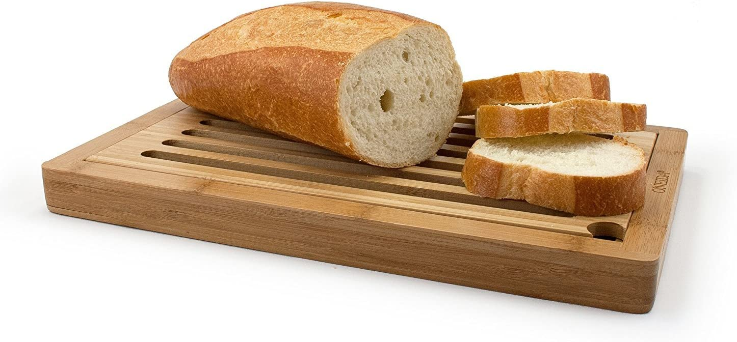 Oneida Bamboo Slotted Los Angeles We OFFer at cheap prices Mall Board Bread