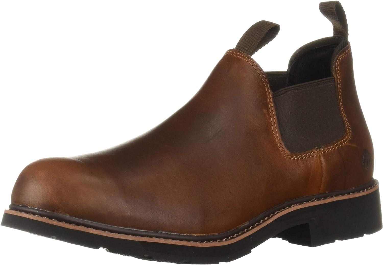 Our shop OFFers the best service Wolverine Men's Save money Ranchero Romeo Industrial Steel Toe Shoe