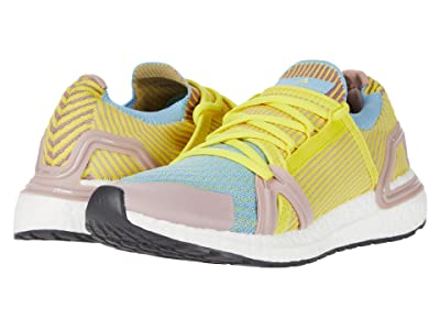 adidas by Stella McCartney Ultraboost 20 S. Sneaker (Dusty Rose/Amc/Fresh Lemon/Clear Blue) Women